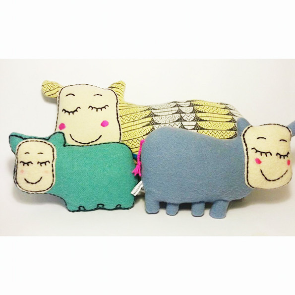Peluches Made by Swimmer
